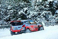 WRC - Hyundai reist mit unerfahrenem Team nach Schweden