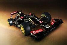Formel 1 - Lotus enthüllt den E23 Hybrid