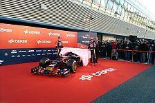 Formel 1 - Toro Rosso Launch: STR10 in Jerez enthüllt
