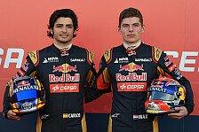 Formel 1 - Herausforderung für Toro Rosso: Rookie-Doppelpack