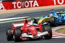Formel 1 - Frankreich 2006: Man siegt immer zweimal