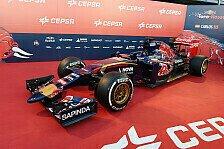 Formel 1 - Bilder: Präsentation Toro Rosso STR10