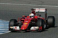Formel 1 - Live-Ticker: Testauftakt in Jerez