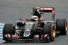 Formel 1 - Nach 41 Runden: Getriebe stoppt Maldonado in Jerez