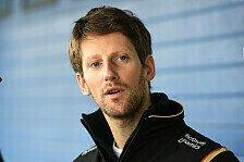 Formel 1 - Grosjean: Zwei Rollen, aber keine Vaterzehntel