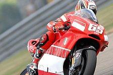 MotoGP - Warm-Up MotoGP: Capirossi gab den Ton an