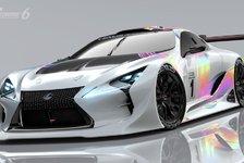 Games - Neuer Lexus für Gran Turismo 6