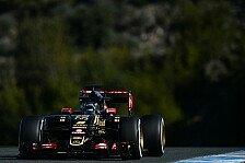 Formel 1 - Grosjean: Der Lotus erinnert mich an 2013