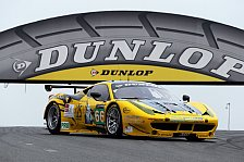 ELMS - Dunlop erhält Exklusivvertrag für GT-Klassen