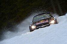 WRC - Schweden: VW-Dreifach-Führung am Freitagmittag