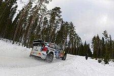 WRC - Dramatischer Führungswechsel in Schweden