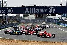 Formel 1 - Frankreich GP: Michael Schumacher gewinnt Taktikschlacht