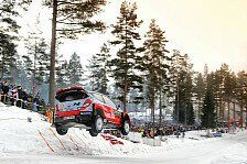 WRC - Neuville übernimmt Führung bei Rallye Schweden