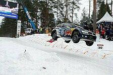 WRC - Mikkelsen und Ogier fahren in Schweden um den Sieg