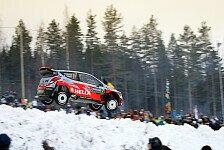 WRC - Hyundai in Schweden auf dem Podium