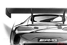 Mehr Sportwagen - Neuer GT3-Mercedes: AMG zeigt Skizzen