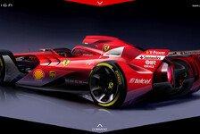 Formel 1 - Rosberg findet Gefallen an Ferrari-Designstudie