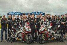 Superbike - Aprilia Racing stellt endgültiges Design vor