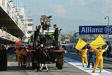 Formel 1 - Bestzeit nach Defekten: Maldonado zuversichtlich