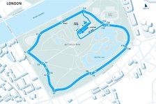 Formel E - Video: Virtuelle Runde durch den Battersea Park