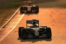 Formel 1 - Neuer Kalender: Testfahrten vorverlegt