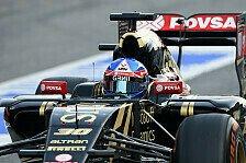Formel 1 - Palmer nach Lotus-Debüt: Sehr positiver Start