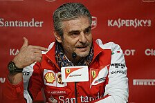 Formel 1 - Arrivabene: Neue Teampower rüttelt Ferrari auf