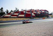 Formel 1 - Live-Ticker: Barcelona-Testfahrten, Tag 1
