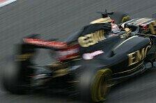 Formel 1 - Maldonado: Wir sind eindeutig schneller