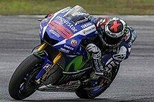 MotoGP - Sepang-Test: Lorenzo deklassiert die Konkurrenz