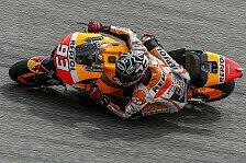MotoGP - Marquez schlägt im zweiten Training zurück