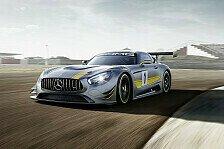 Mehr Sportwagen - Video: Neuer Mercedes AMG GT3 auf der Nordschleife
