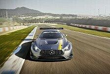 Mehr Sportwagen - Alles auf Angriff: der Mercedes-AMG GT3