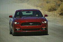Auto - Start des neuen Ford Mustang
