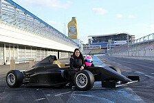 ADAC Formel 4 - Girl-Power! Carrie Schreiner startet für Piro