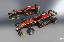 ADAC Formel 4 - Race Performance mit zwei Autos am Start