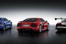 Auto - Bilder: Audi präsentiert neue Modelle