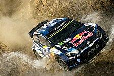 WRC - Ogier führt Rallye Mexiko im Polo R WRC an