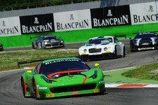 Blancpain GT Serien - BES - Monza-Training an Rinaldi