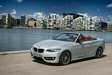 Auto - Oben ohne: BMW mit neuem 2er Cabrio