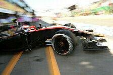 Formel 1 - Button hofft: Bloß nicht letzte Startreihe