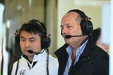 Formel 1 - Trotz letzter Reihe: Dennis verteidigt Honda