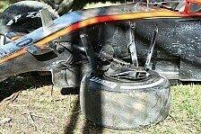 Formel 1 - Bilder: Australien GP - Magnussen-Unfall