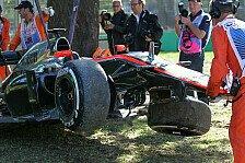 Formel 1 - Magnussen nimmt Crash auf eigene Kappe