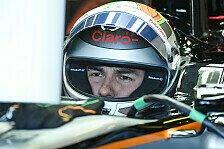 Formel 1 - Perez: Force India fehlt es an Abtrieb