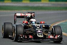 Formel 1 - Australien: Lotus-Piloten bejubeln Rückkehr in Q3
