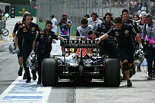 Formel 1 - Ricciardo muss fast gesamte Power Unit tauschen