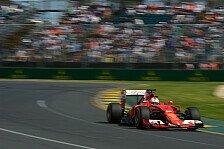 Formel 1 - Vettel forsch: Podiumsplatz ist realistisch