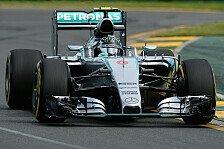 Formel 1 - Rosberg vom Winde verweht