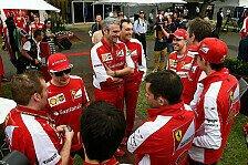 Formel 1 - Vettel und Kimi: Neues Happy-Gefühl bei Ferrari